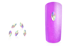 Jolifin LAVENI Strass-Diamond - small cat-eye irisierend