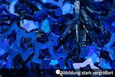 Jolifin Hologramm Sterne dunkelblau