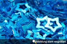 Jolifin Hologramm Sterne mittelblau