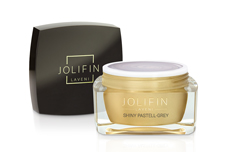 Jolifin LAVENI Farbgel - shiny pastell-grey 5ml