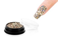 Jolifin LAVENI Sparkle Glitter - hologram champagne