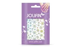 Jolifin Transfer Nagelfolie - Snowflakes