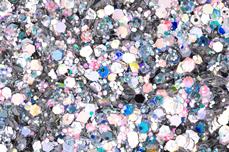 Jolifin LAVENI Sparkle Glitter - hologram silver