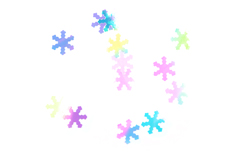 Jolifin Magic Snowflakes