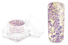 Jolifin Illusion Glitter - magenta elegance