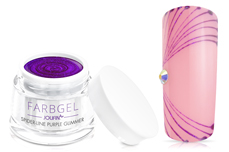 Jolifin Spider-Line Gel - purple Glimmer 5ml