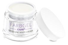 Jolifin Spider-Line Gel - white cream 5ml