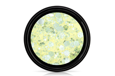 Jolifin LAVENI Crystal Glitter - pastell-yellow