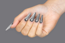 Jolifin Super Mirror-Chrome Pigment - silver