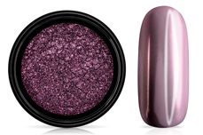 Jolifin Super Mirror-Chrome Pigment - rosy-lavender