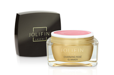 Jolifin LAVENI Farbgel - charming rosé Glimmer 5ml