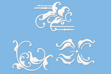 Jolifin LAVENI White Elegance Tattoo Nr. 7