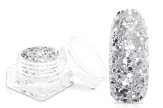 Jolifin Super-Glossy Glitter - luxury sliver