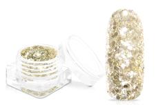Jolifin Super-Glossy Glitter - luxury champagne