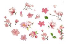 Jolifin LAVENI XL Sticker - Flowers Nr. 1