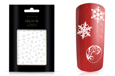 Jolifin LAVENI Christmas Sticker - Tiny snowflakes Nr. 1