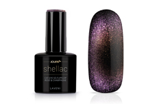 Jolifin LAVENI Shellac - Cat-Eye 5D FlipFlop rosé & champagne 12ml