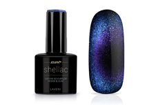 Jolifin LAVENI Shellac - Cat-Eye 5D FlipFlop ocean & lilac 12ml