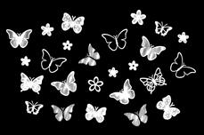 Jolifin LAVENI XL Sticker - White 10