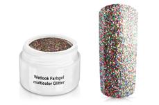 Wetlook Farbgel multicolor Glitter 5ml