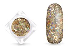 Jolifin LAVENI Mirror-Flakes - magic champagne