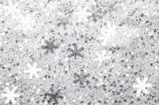 Jolifin Snowflake Glitter - elegance white