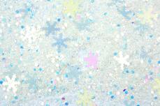 Jolifin Snowflake Glitter - icy white