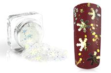 Jolifin Snowflake Glitter - crystal