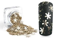 Jolifin Snowflake Glitter - prosecco