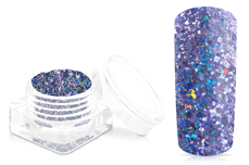 Jolifin Disco Ball Glitter - purple