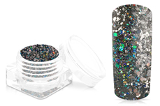 Jolifin Disco Ball Glitter - black