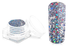 Jolifin Disco Ball Glitter - silver