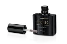 Jolifin LAVENI Shellac - dark taupe 12ml