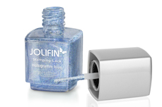 Jolifin Stamping-Lack - hologramm blue 12ml