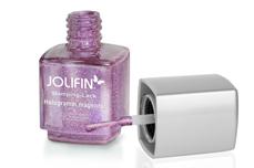 Jolifin Stamping-Lack - hologramm magenta 12ml