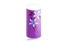 Airbrush Tips Purple Flower