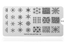 MoYou-London Schablone Festive Collection 56