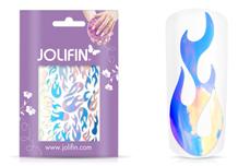 Jolifin Hologramm Sticker - Flame ice