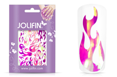 Jolifin Aurora Sticker - Flame lollipop