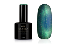 Jolifin LAVENI Shellac - Cat-Eye ocean smaragd 12ml