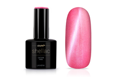 Jolifin LAVENI Shellac - Cat-Eye pink 12ml