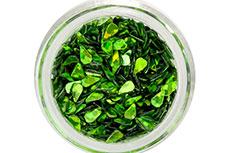 Jolifin Glitter Drops grün