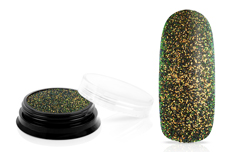 Jolifin LAVENI Chameleon Glitter - black jungle