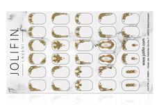 Jolifin LAVENI PRO Handmade Strass-Slider - XL gold 1