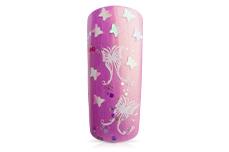 Jolifin Glitter Butterfly weiss