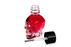 Jolifin Skull-Behälter - Pinsel 15ml