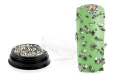 Jolifin LAVENI Luxury Pearl Mix - silver