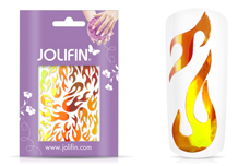 Jolifin Aurora Sticker - Flame fire