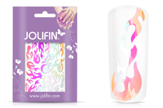 Jolifin Aurora Sticker - Flame peach