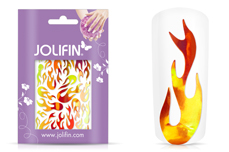 Jolifin Aurora Sticker - Flame sunset